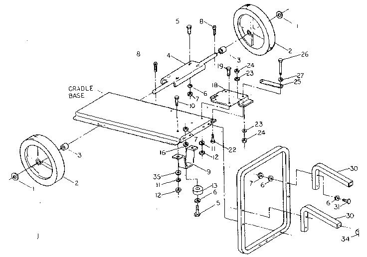 Craftsman model 580328360 generator genuine parts