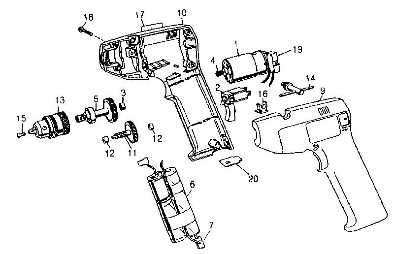 Craftsman model 900112130 drill-misc craftsman genuine parts