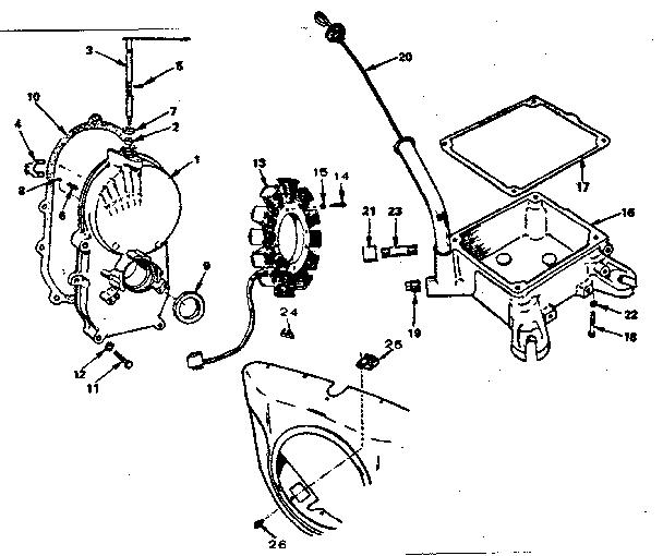 Onan model N52M-GA019.9/3580B engine genuine parts