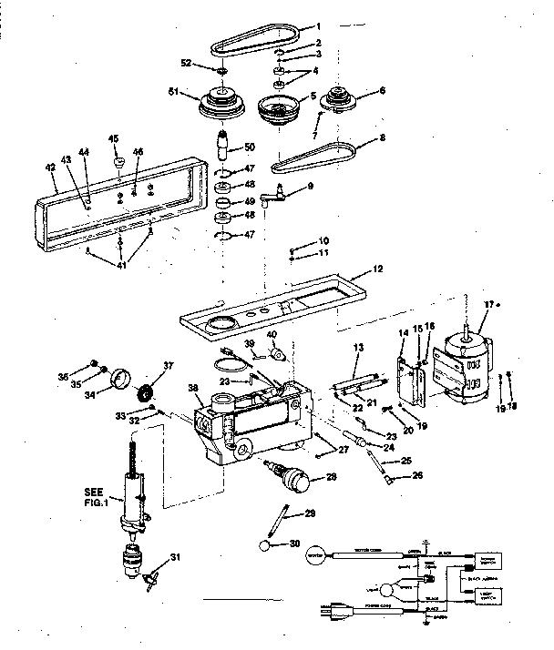 Craftsman model 113213852 drill press genuine parts