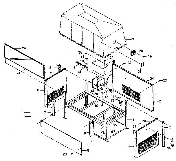 Craftsman model 580327810 generator genuine parts