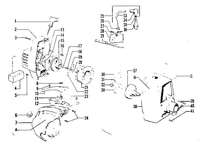 Craftsman model 234795511 line trimmer/weedwacker