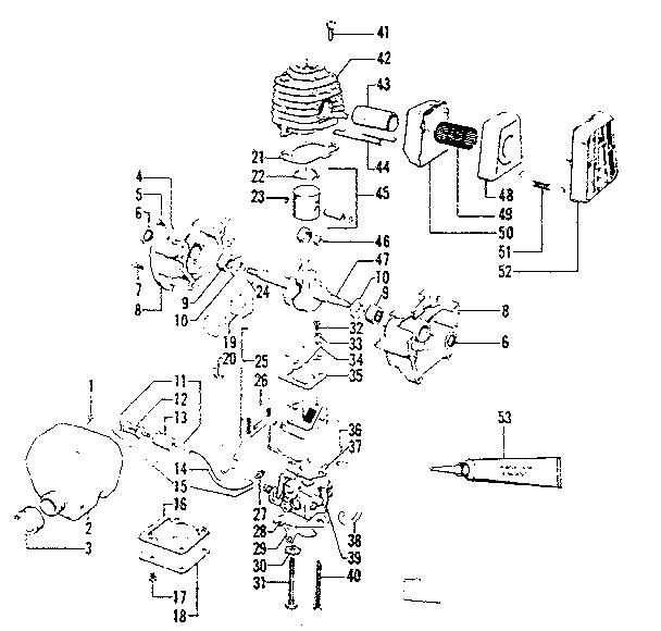 Craftsman model 234795512 line trimmer/weedwacker