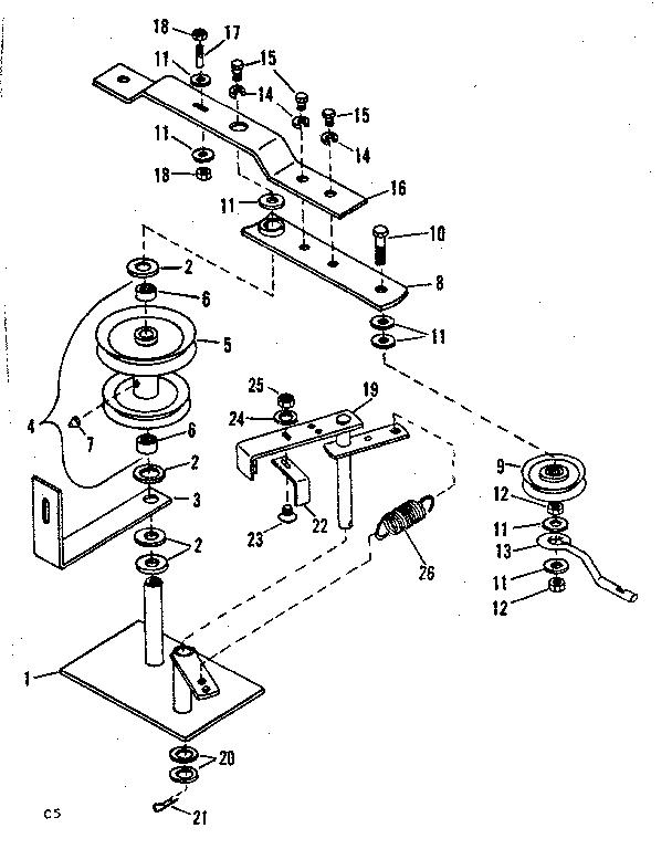 Craftsman model 84226061 snow thrower attachment genuine parts