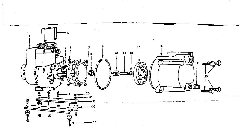 Craftsman model 1492632 pump genuine parts