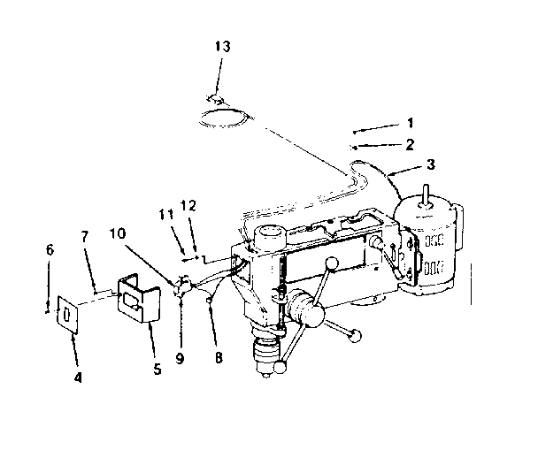 Craftsman model 113213840 drill press genuine parts