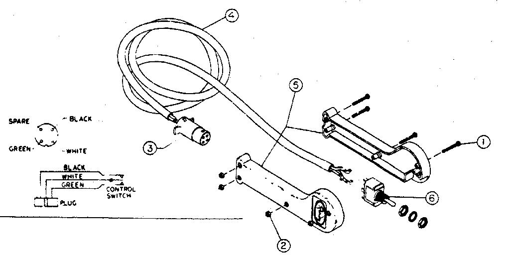 Ramsey model RE 12000 R winch genuine parts