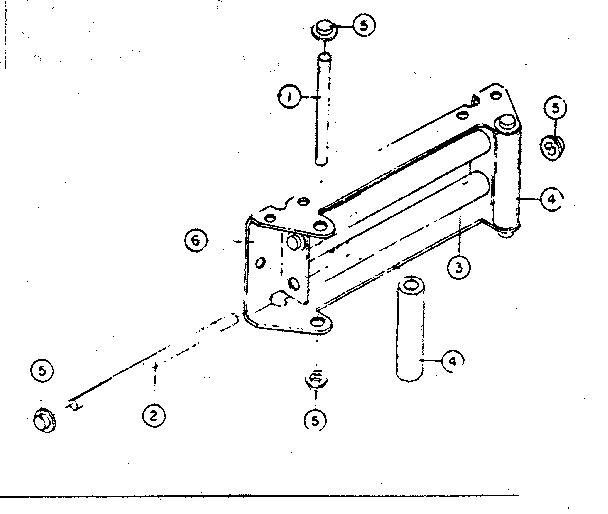 Ramsey model 2001 winch genuine parts