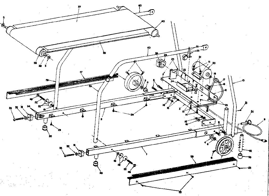 Lifestyler model 29606 treadmill genuine parts