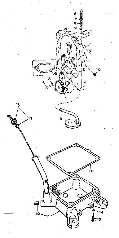 Onan model B43M-GA016 engine genuine parts