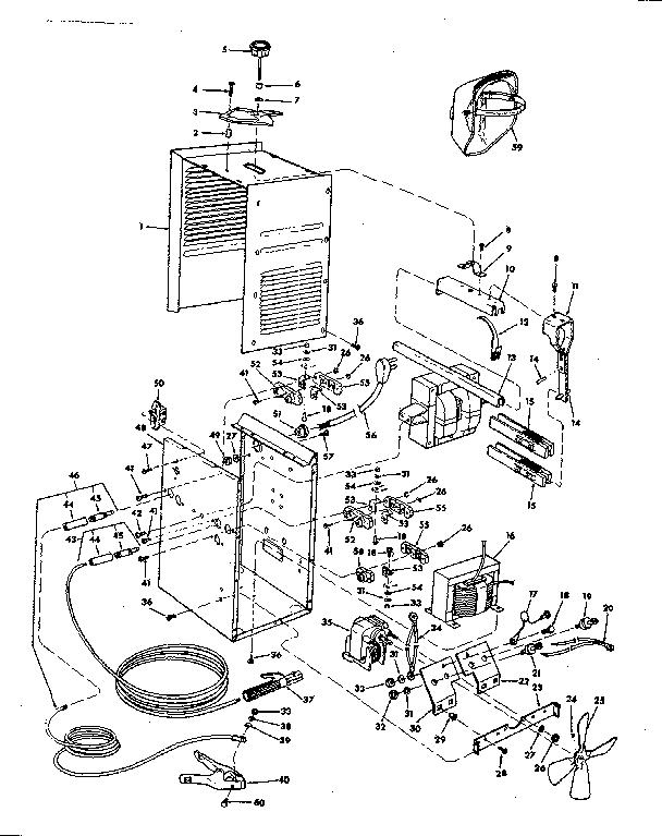 Craftsman model 113201892 welder genuine parts
