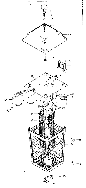 Craftsman model 83314333 insect lantern genuine parts