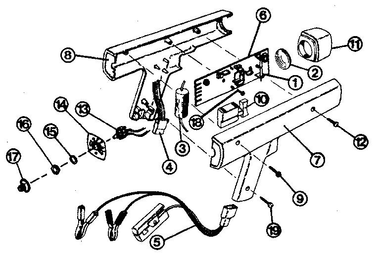 Craftsman model 161219401 timing light genuine parts