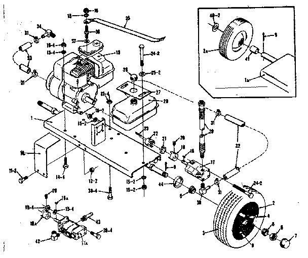 BARNES SEARS HYDRAULIC LOG SPLITTER 26 INCH CAPACITY Parts