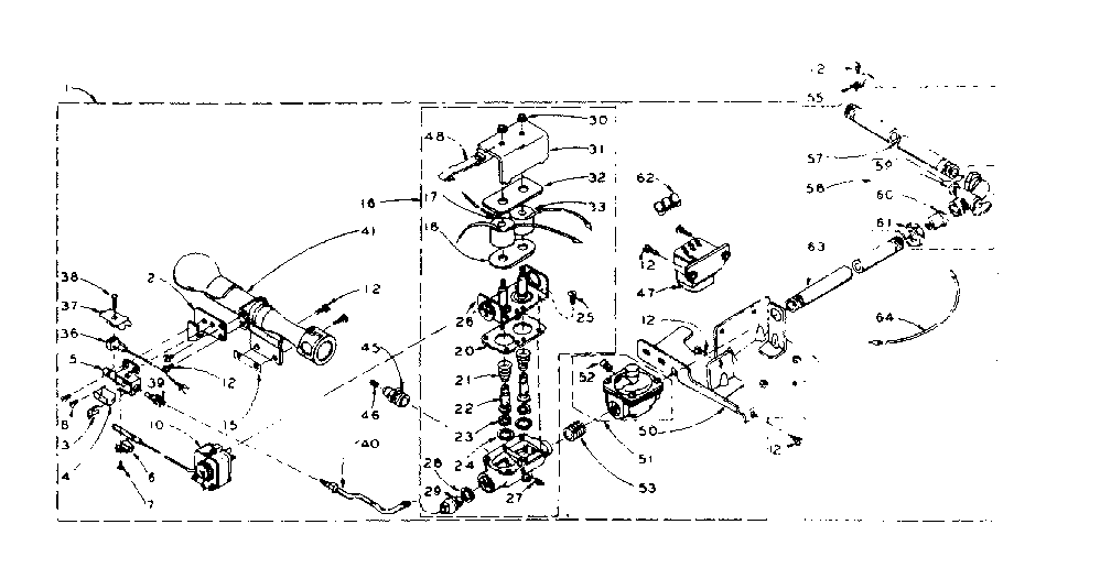 Kenmore model 1105807951 residential dryer genuine parts