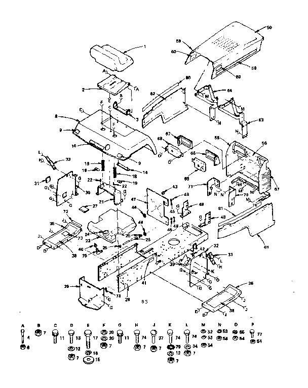 Craftsman Tractor Carburetor Diagram Cub Cadet Carburetor