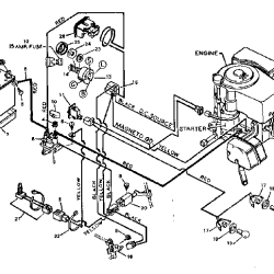 wiring schematic for craftsman lawn tractor wiring diagram craftsman tractor parts model 917t287121 sears partsdirect riding lawn mower wiring diagram craftsman tractor source sears lawnmower