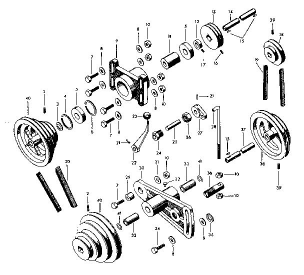 CRAFTSMAN CRAFTSMAN 12-INCH METAL TURNING LATHE Parts