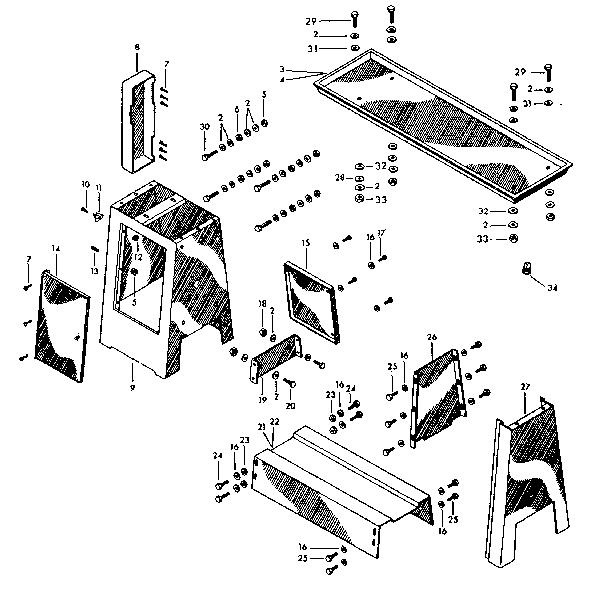 Craftsman model 10128970 lathe genuine parts