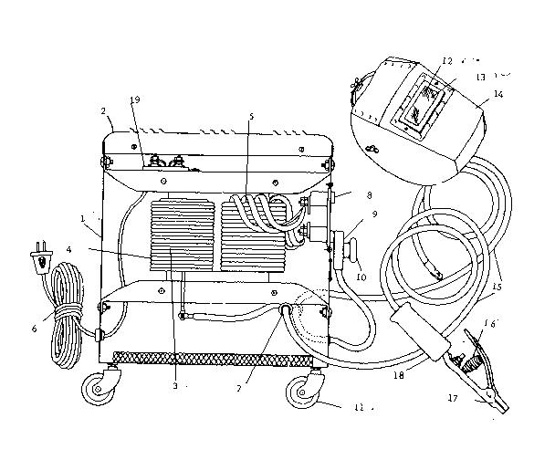 Craftsman model 1131903 welder genuine parts