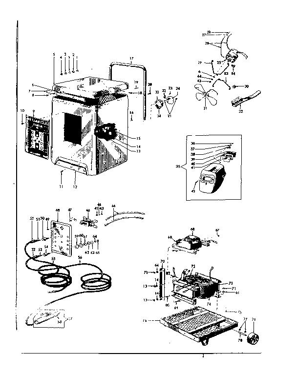 Craftsman model 11320150 welder genuine parts
