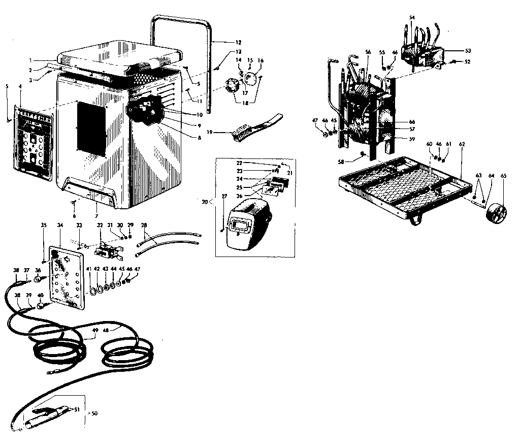 Craftsman model 11320171 welder genuine parts