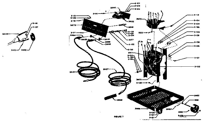 Craftsman model 1132018 welder genuine parts