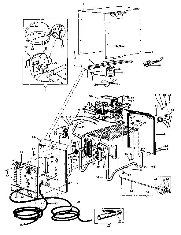 Craftsman model 11320126 welder genuine parts