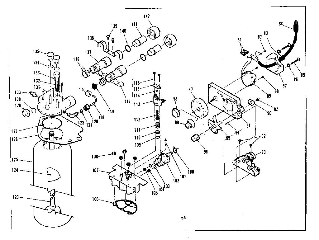 Kenmore model 62534830 water softener genuine parts