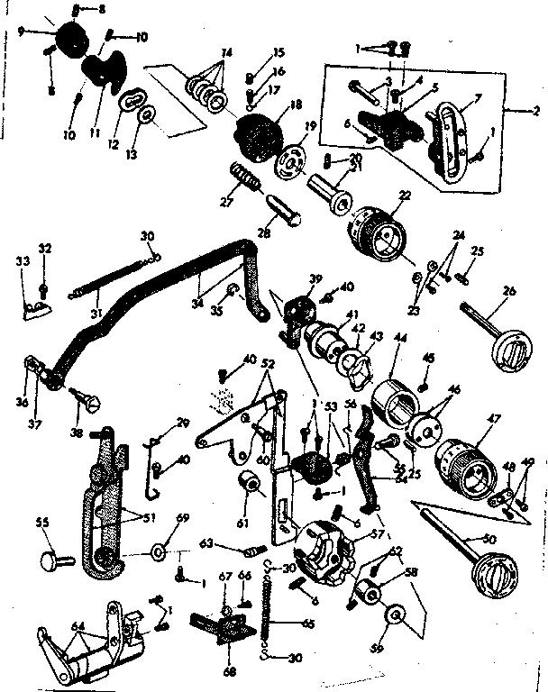 Kenmore model 15818030 sewing genuine parts