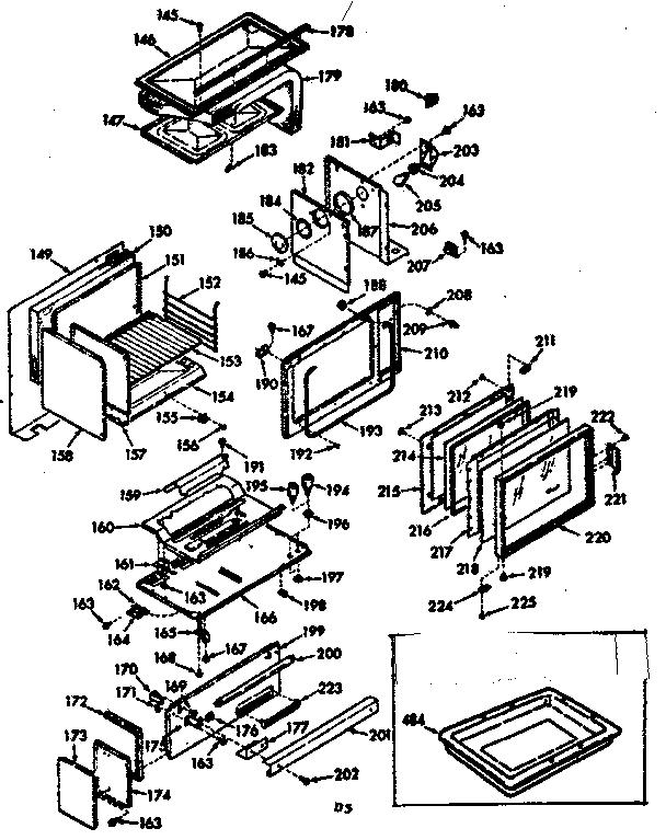 Kenmore model 1037717210 range (gas) genuine parts