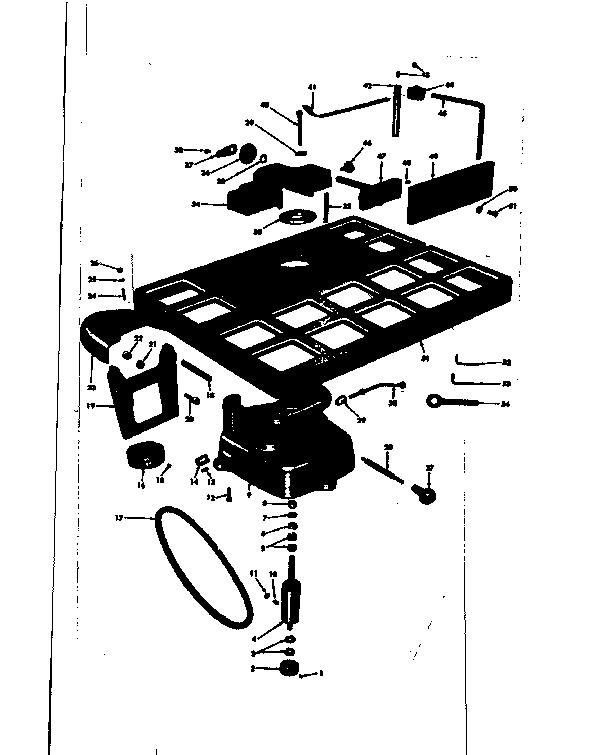 Craftsman model 10323922 planer genuine parts