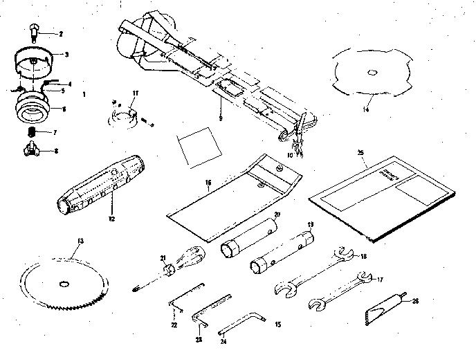 Craftsman model 636796233 line trimmer/weedwacker