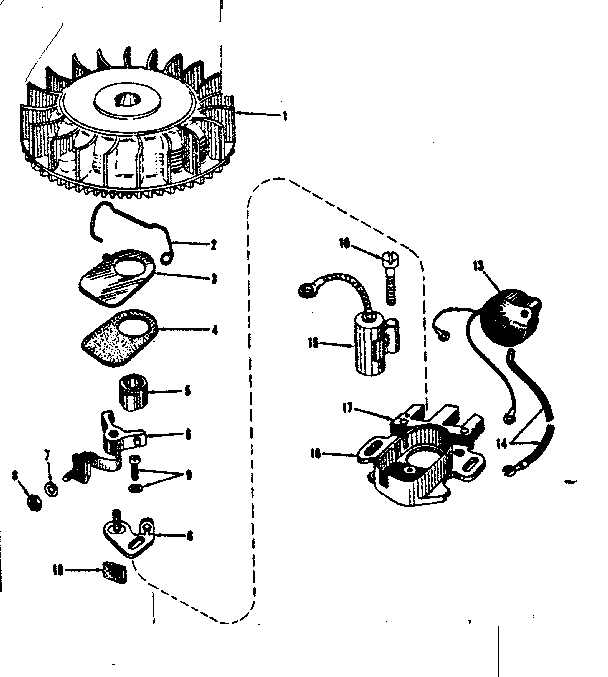 Craftsman model 14330250 engine genuine parts