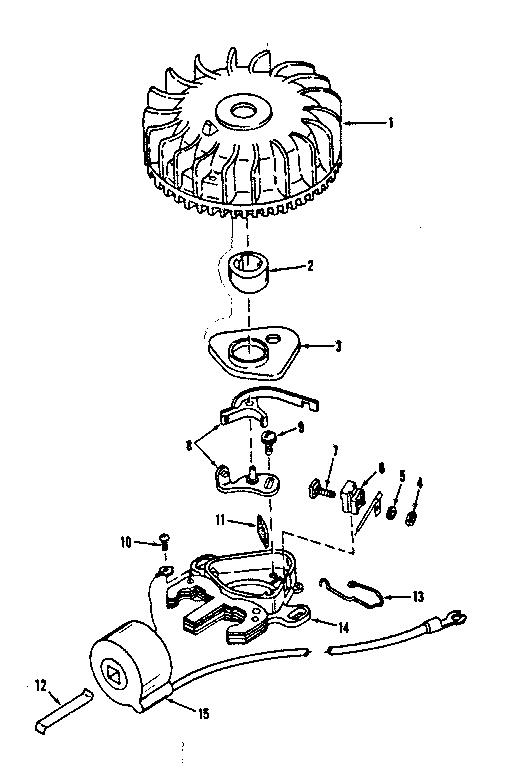 Craftsman model 14371252 engine genuine parts