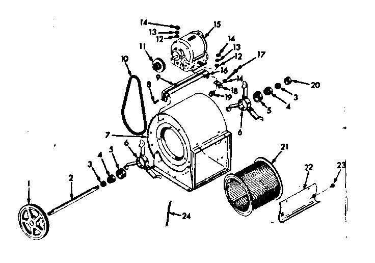 Kenmore model 86774774 heater, kerosene genuine parts