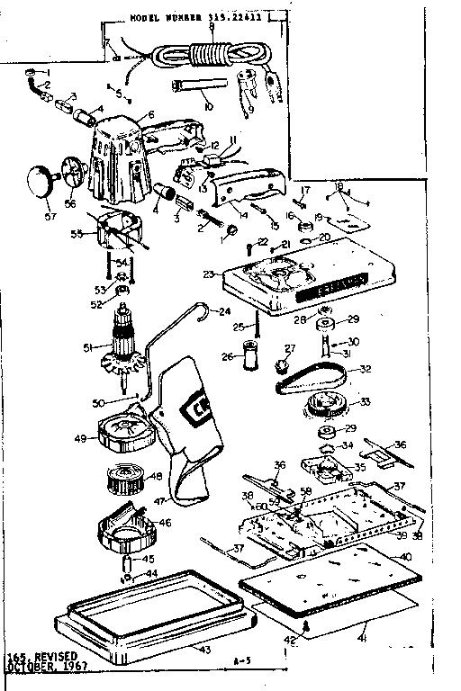 CRAFTSMAN CRAFTSMAN DUSTLESS DUAL-MOTION SANDER Parts