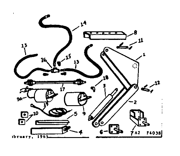Craftsman model 4714039 hoist genuine parts