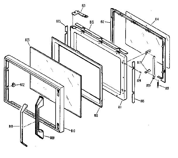 Kenmore model 3639878810 ranges, electric genuine parts