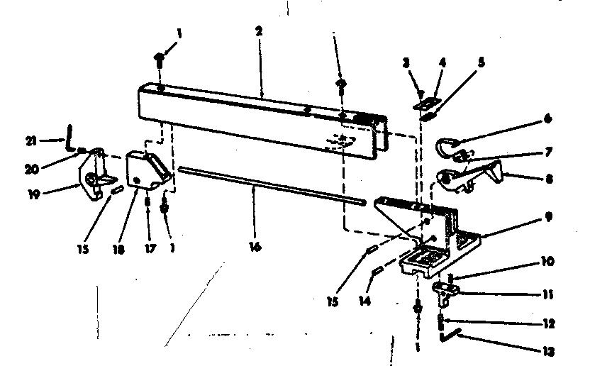 CRAFTSMAN CRAFTSMAN BENCH SAW 8-INCH TILTING ARBOR Parts