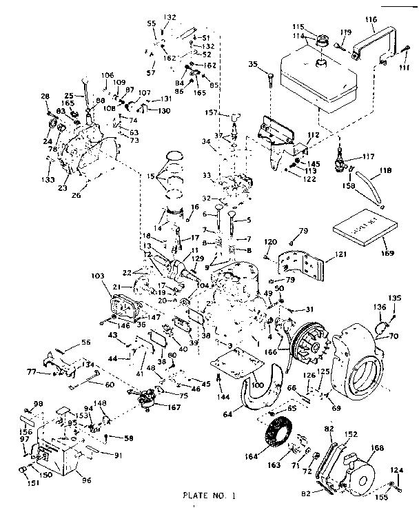 Tecumseh model H60-75216H engine genuine parts