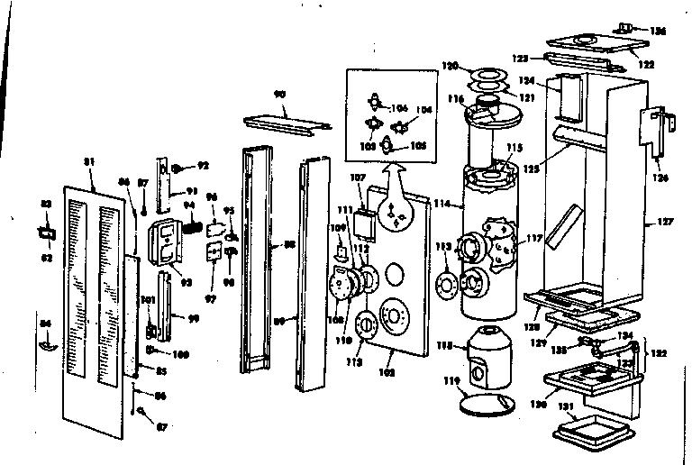 Kenmore model 15574502 heater, kerosene genuine parts