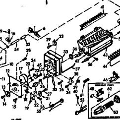 Ice Maker Diagram Citroen C5 Suspension Wiring Kenmore Model 106678101 Kits Genuine Parts Par