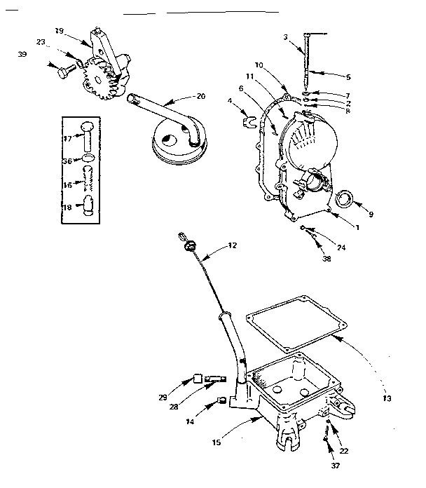 Onan model BF-MS2833E engine genuine parts