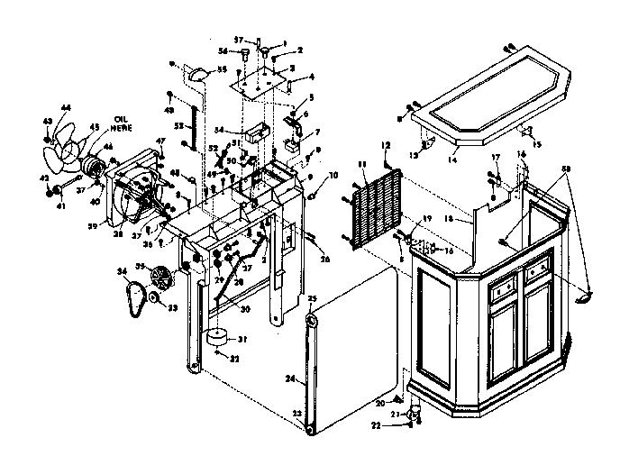 Kenmore model 758743700 humidifier genuine parts