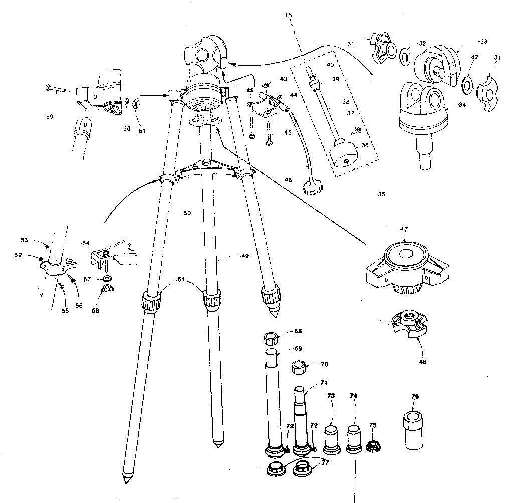 Sears model 24104 telescope genuine parts
