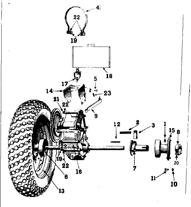 Craftsman model 91757560 lawn, tractor genuine parts