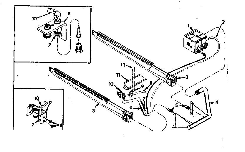Kenmore model 86776382 furnace/heater, gas genuine parts