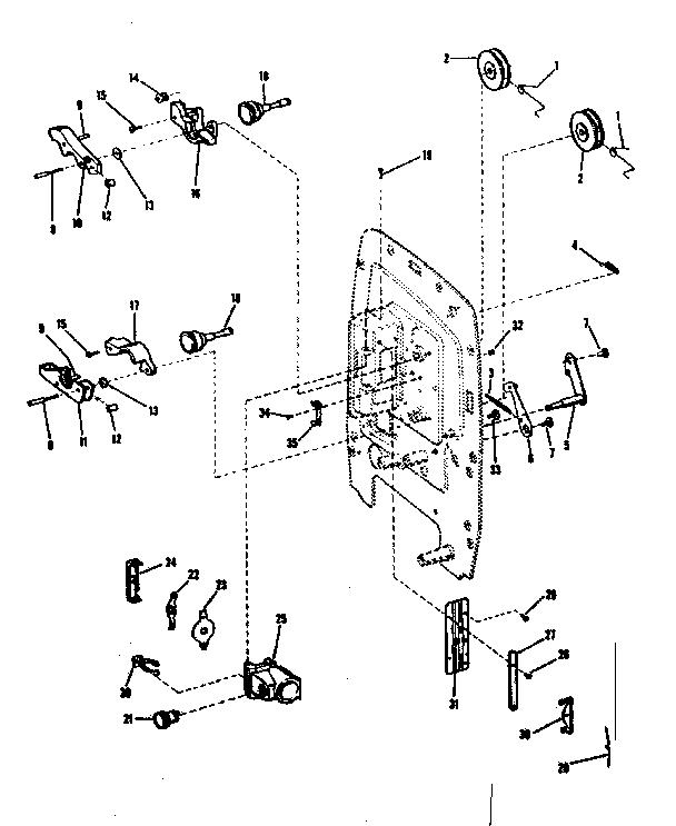 Sears model 9292 projector genuine parts