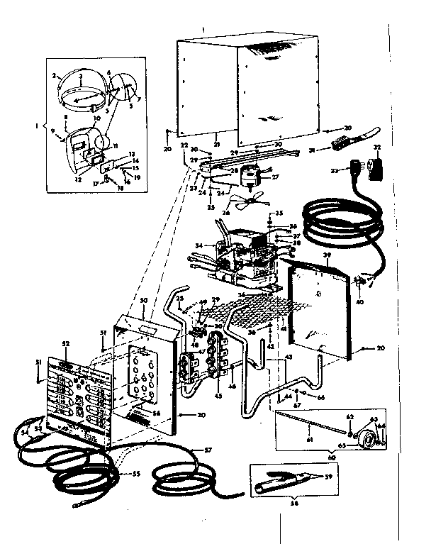 Craftsman model 11320245 welder genuine parts